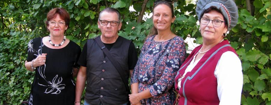 Tina Schlegel&Friends – Lesung mit Musik